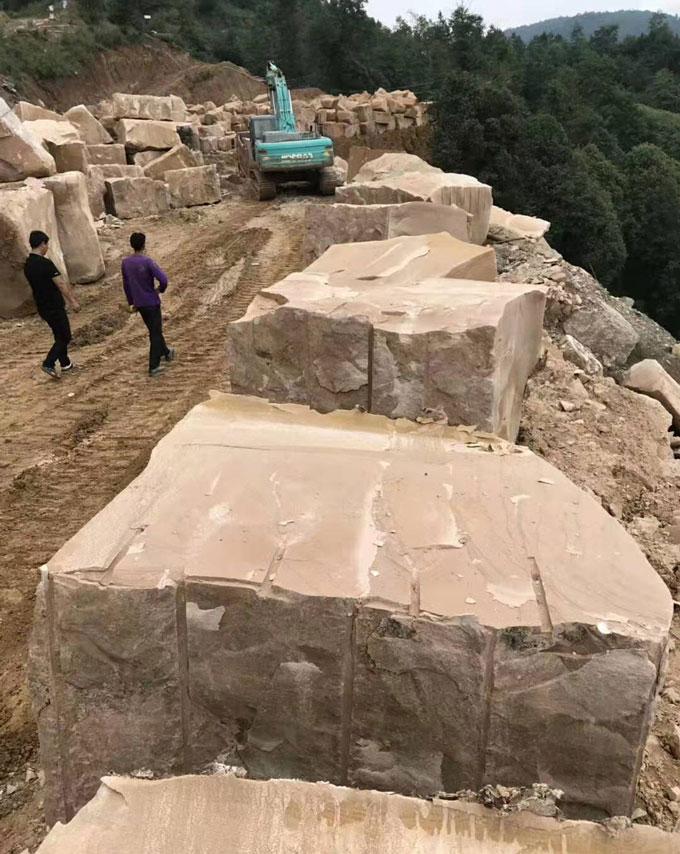 云南砂岩荒料
